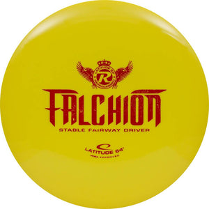 Latitude 64 Reprocessed Gold Falchion Fairway Driver Golf Disc