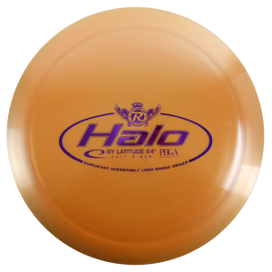 Latitude 64 Reprocessed Gold Halo Distance Driver Golf Disc