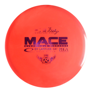 Latitude 64 Reprocessed Gold Mace Midrange Golf Disc