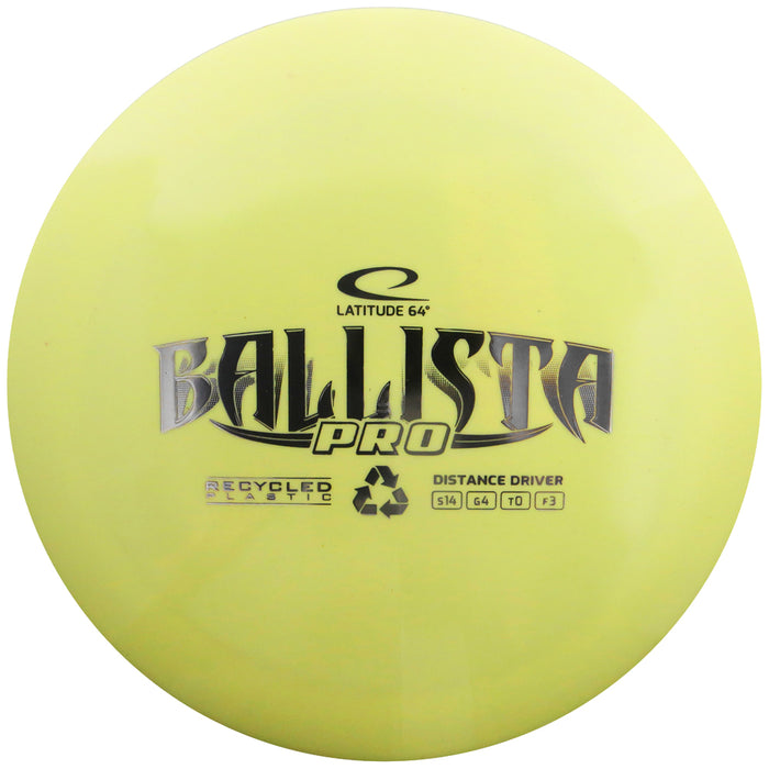 Latitude 64 Reprocessed Gold Ballista Pro Distance Driver Golf Disc
