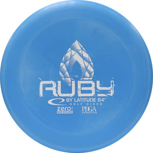 Latitude 64 Zero Line Medium Ruby Putter Golf Disc