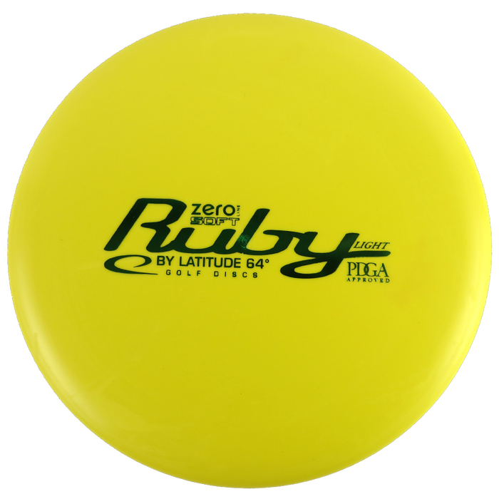 Latitude 64 Zero Line Soft Ruby Putter Golf Disc