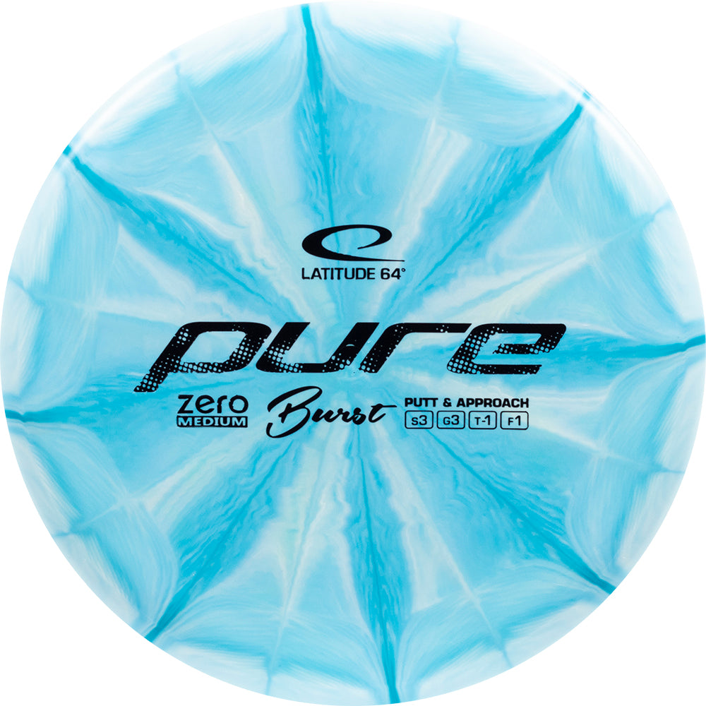 Latitude 64 Zero Medium Burst Pure Putter Golf Disc