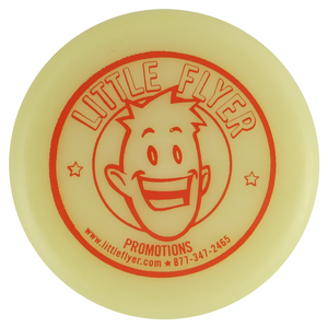 Little Flyer Logo Competition Heavyweight Inter-Locking Mini Marker Disc