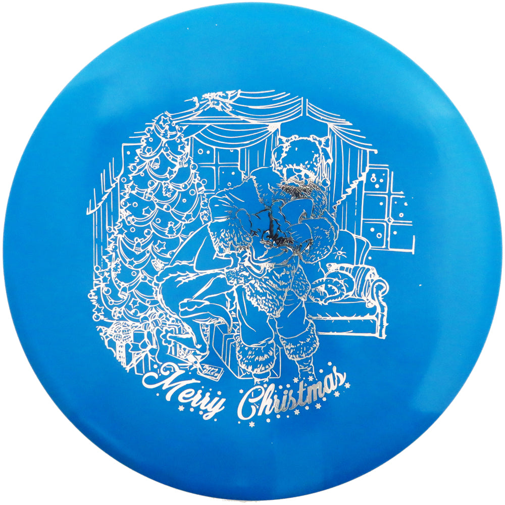 Legacy Limited Edition 2019 Holiday Santa vs. Grinch Icon Gauge Midrange Golf Disc
