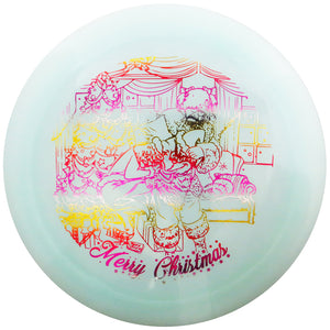 Legacy Limited Edition 2019 Holiday Santa vs. Grinch Pinnacle Cannon Distance Driver Golf Disc
