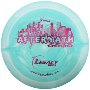 Legacy Swirly Icon Aftermath Distance Driver Golf Disc