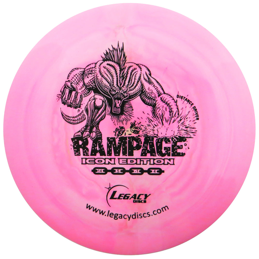 Legacy Swirly Icon Rampage Distance Driver Golf Disc