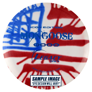 Legacy Tie-Dye Icon Edition Mongoose Fairway Driver Golf Disc