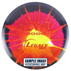 Legacy Tie-Dye Icon Edition Rival Fairway Driver Golf Disc