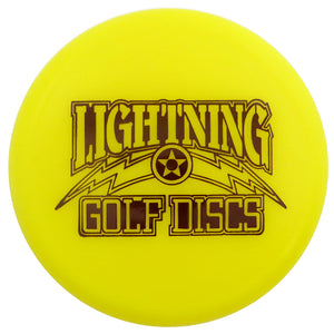 Lightning Golf Discs Logo Inter-Locking Mini Marker Disc