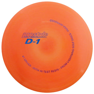Lightning Prostyle D-1 #1 Driver Fairway Driver Golf Disc