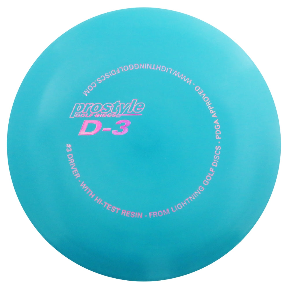 Lightning Prostyle D-3 #3 Driver Fairway Driver Golf Disc