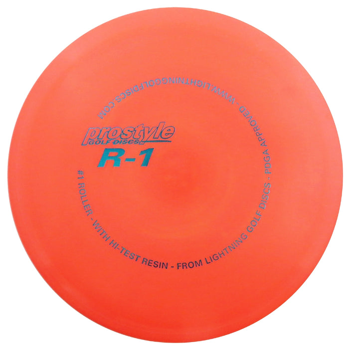 Lightning Prostyle R-1 #1 Roller Fairway Driver Golf Disc
