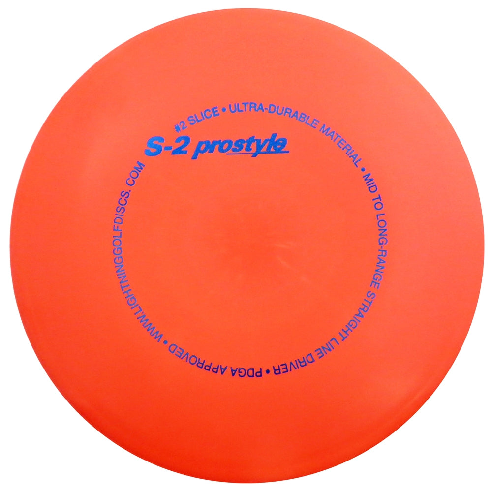 Lightning Prostyle S-2 #2 Slice Midrange Golf Disc