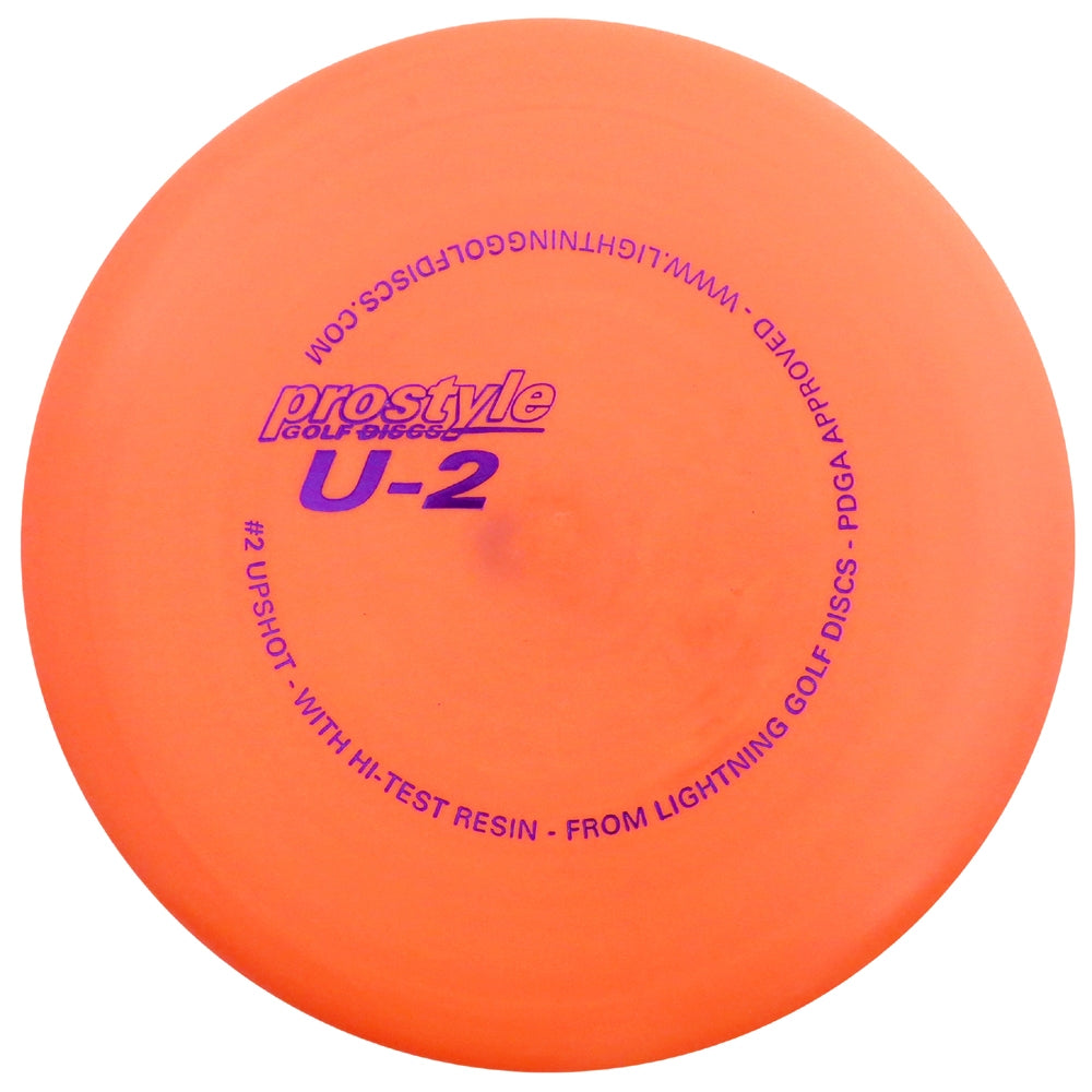 Lightning Prostyle U-2 #2 Upshot Putter Golf Disc