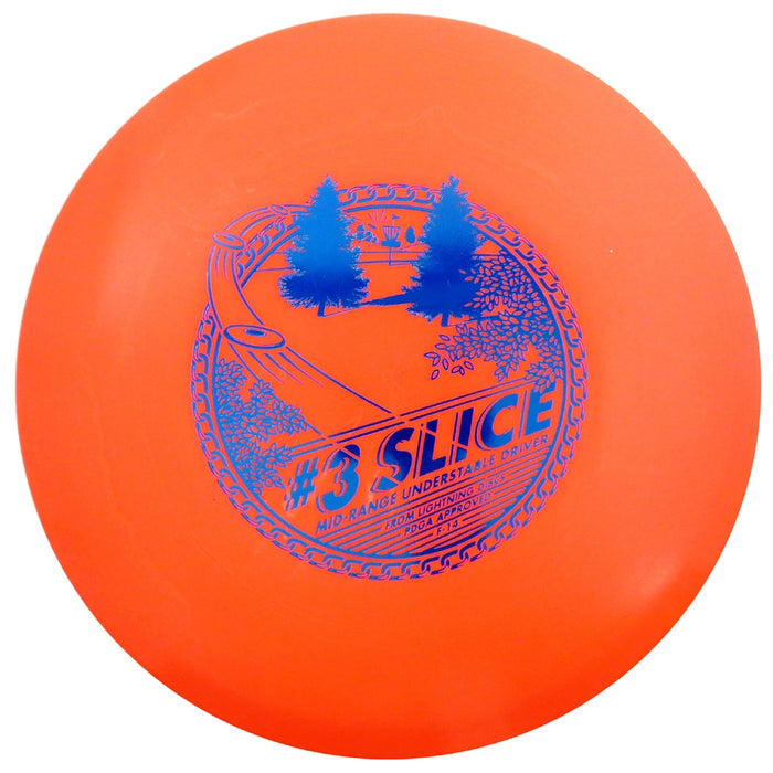 Lightning Standard #3 Slice Midrange Golf Disc