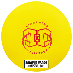 Lightning Strikeout Standard Rubber Putter Golf Disc