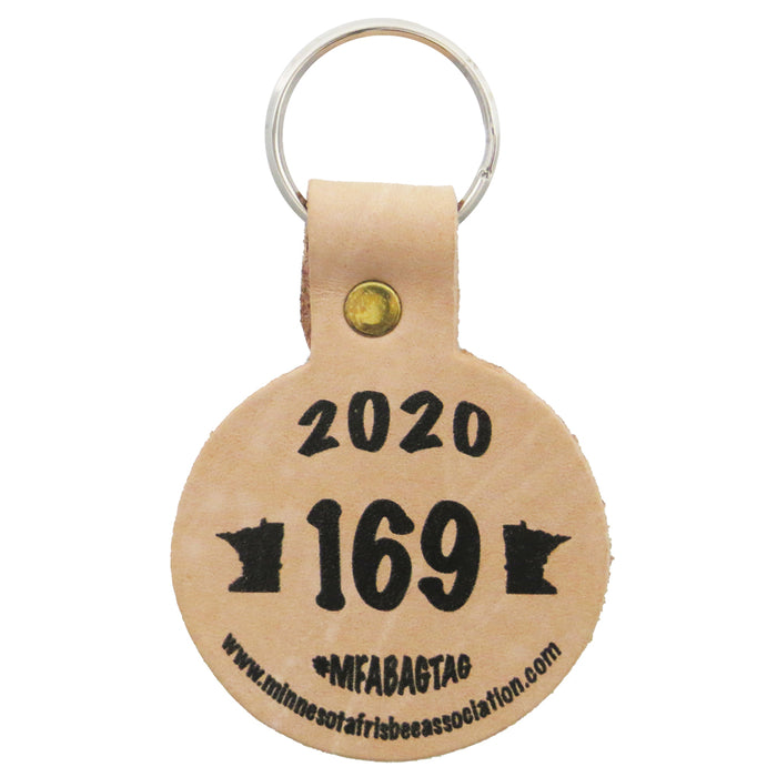 MFA Minnesota Frisbee Association 2020 Bag Tag