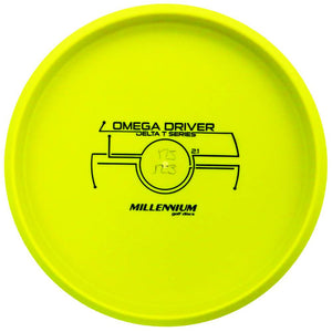 Millennium Bottom Stamp DT Omega Driver Putter Golf Disc