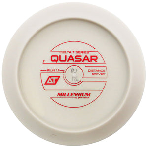 Millennium Bottom Stamp DT Quasar Distance Driver Golf Disc
