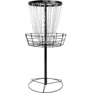 MVP Black Hole Lite 24-Chain Disc Golf Basket