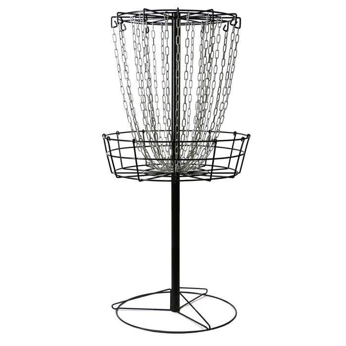 MVP Black Hole Practice 24-Chain Disc Golf Basket