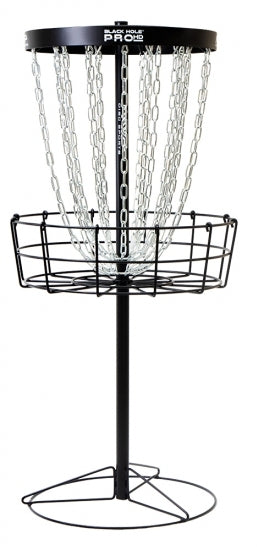 MVP Black Hole Pro HD V2 24-Chain Disc Golf Basket