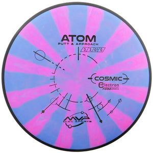 MVP Cosmic Electron Firm Atom Putter Golf Disc