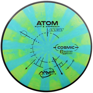 MVP Cosmic Electron Soft Atom Putter Golf Disc