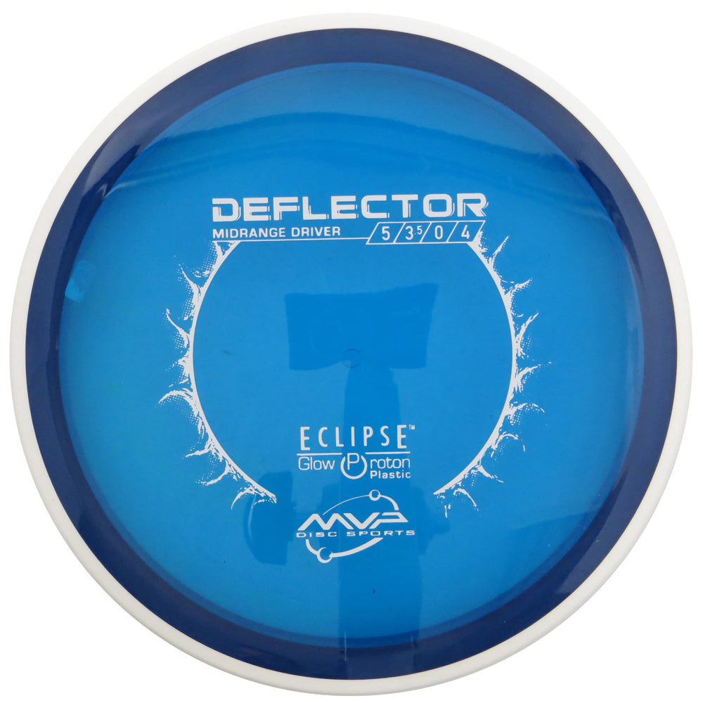MVP Eclipse Glow Proton Deflector Midrange Golf Disc