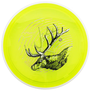MVP Limited Edition 2018 Holiday Eclipse Glow Proton Deflector Midrange Golf Disc