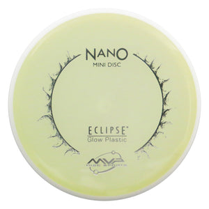 MVP Disc Sports Eclipse 2.0 Glow Proton Nano Mini Marker Disc