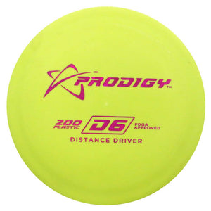 Prodigy 200 Series D6 Distance Driver Golf Disc