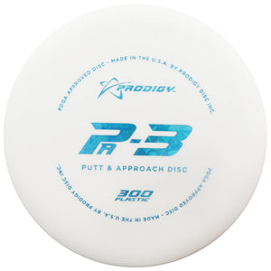Prodigy 300 Series PA3 Putter Golf Disc