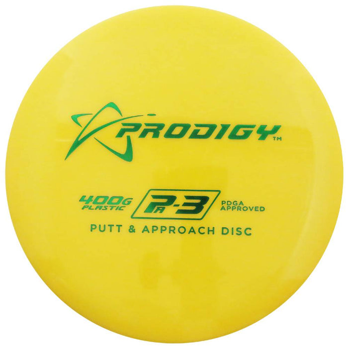 Prodigy 400G Series PA3 Putter Golf Disc