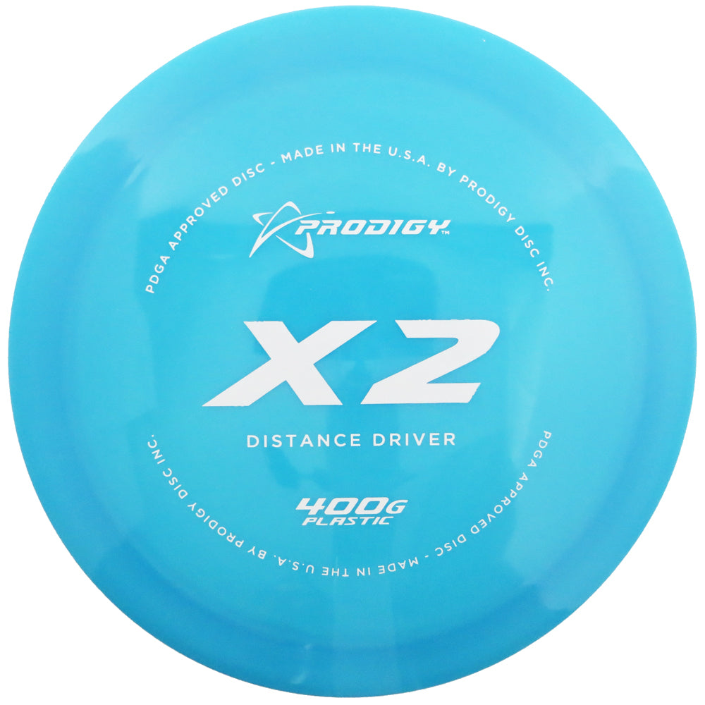 Prodigy 400G Series X2 Distance Driver Golf Disc