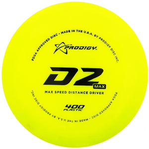 Prodigy 400 Series D2 Max Distance Driver Golf Disc