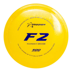 Prodigy 500 Series F2 Fairway Driver Golf Disc
