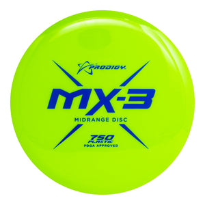 Prodigy 750 Series MX3 Midrange Golf Disc