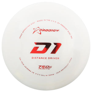 Prodigy 750G Series D1 Distance Driver Golf Disc