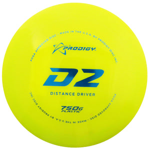 Prodigy 750G Series D2 Distance Driver Golf Disc