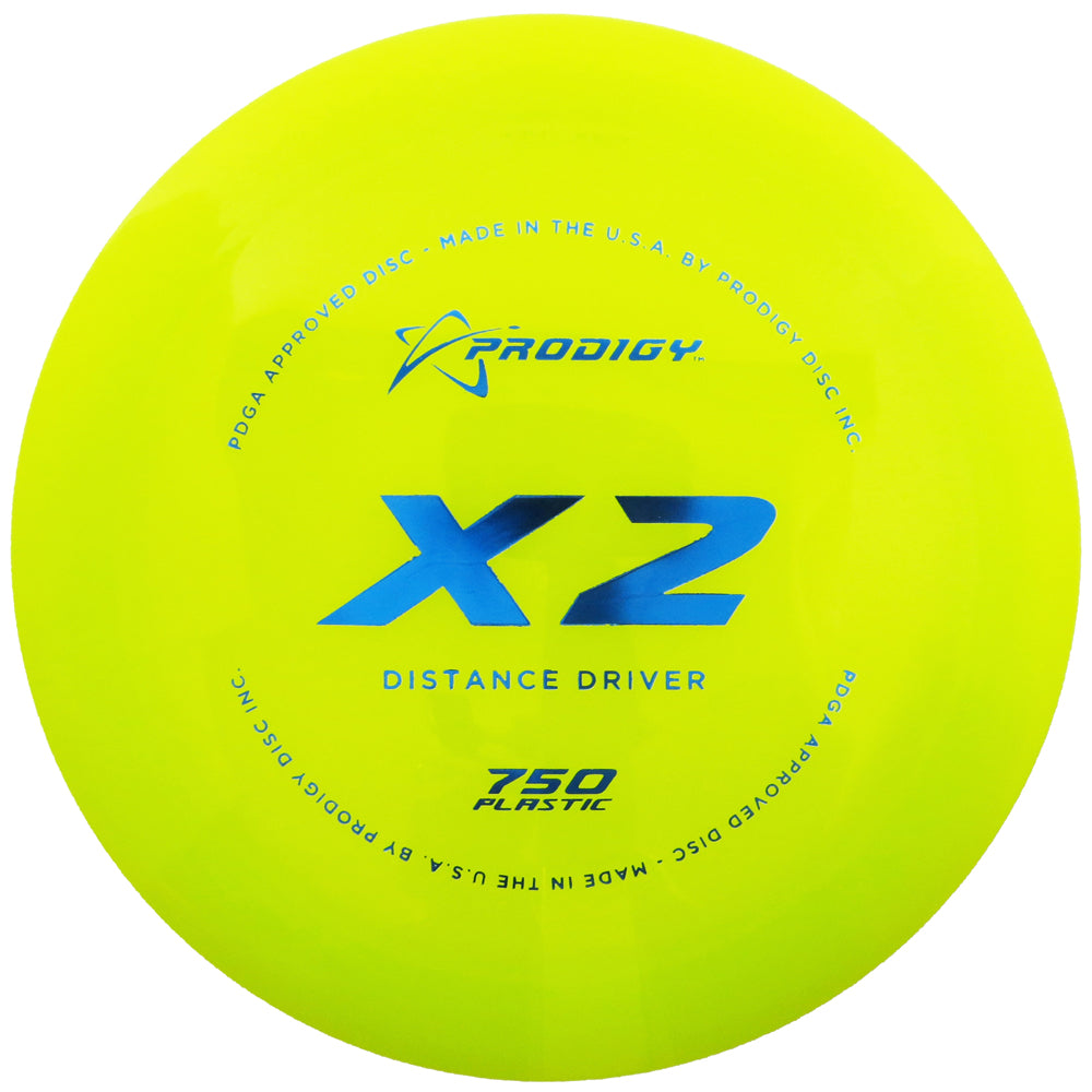 Prodigy 750 Series X2 Distance Driver Golf Disc