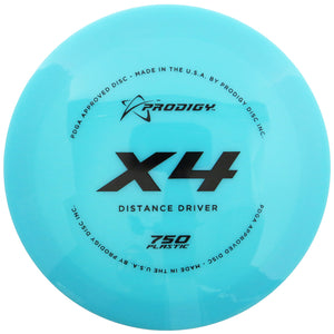 Prodigy 750 Series X4 Distance Driver Golf Disc