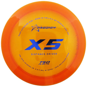 Prodigy 750 Series X5 Distance Driver Golf Disc