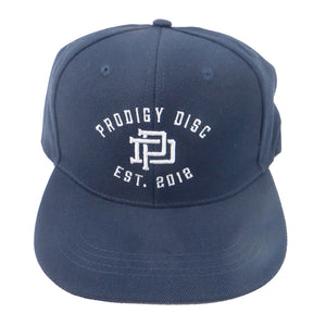 Prodigy Disc PD Monogram Snapback Flatbill Disc Golf Hat