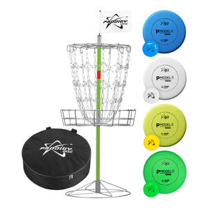 Prodigy Mobile 15-Chain Disc Golf Basket Practice Set