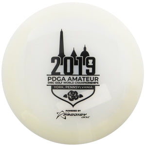 Prodigy Limited Edition 2019 Am Worlds 400 Glow Series D1 Max Distance Driver Golf Disc