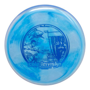 Prodigy Limited Edition 2020 Signature Series Cale Leiviska 400 Spectrum M4 Midrange Golf Disc