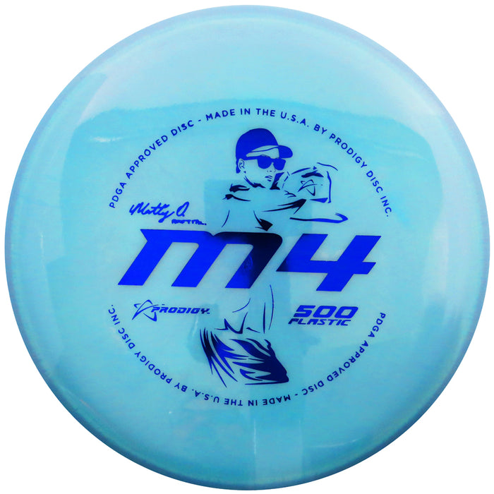Prodigy Limited Edition 2020 Signature Series Matt Orum 500 Series M4 Midrange Golf Disc